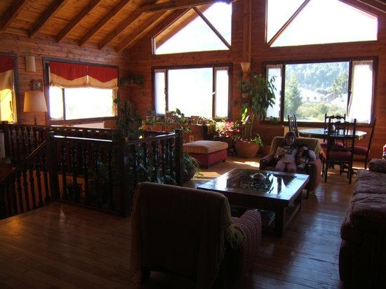 La Roca de la Patagonia: Salon para huespedes