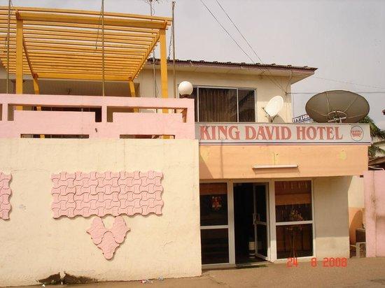 King David Hotel: enter to hotel