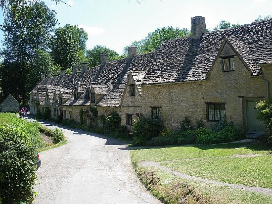 The Abbey: Arlington Row, Cotswolds