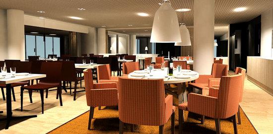 Radisson Blu Hotel, Espoo: Restaurant Ranta, Italian style dishes.