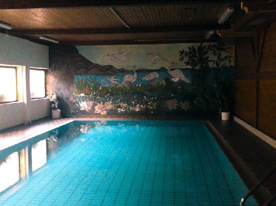 Hotel Pulvererhof: abbröckelnde Farbe