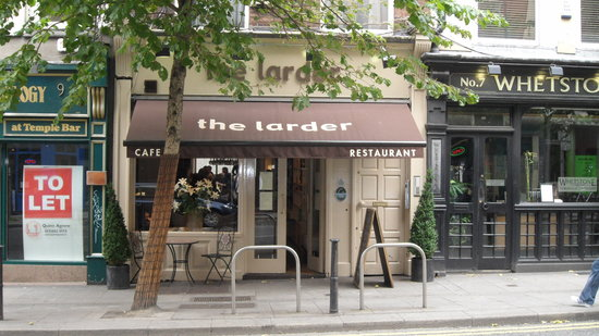 The Larder Restaurant & Brew House: The Larder as seen from across the street.