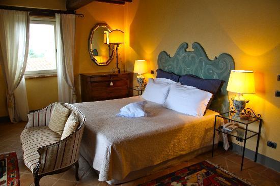 ลา พาลาซเซตตา เดล เวสโคโว: Bedroom