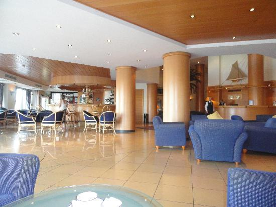 The Waterfront Hotel: the foyer area
