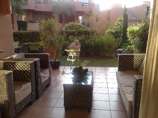 El Retiro de Bel Air : View to the terrace