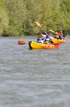 Canoe Kayak 2X Aventures: 2X Aventures - Base de canoës