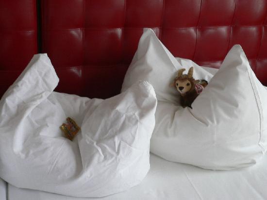 Esplanade Hotel: Hennes und Gummibärchen