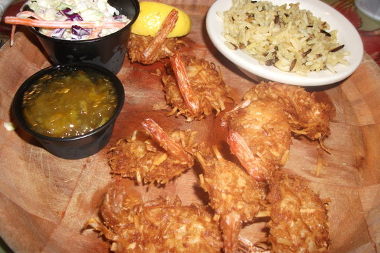 Crabby Bill's : Cocunut Shrimp