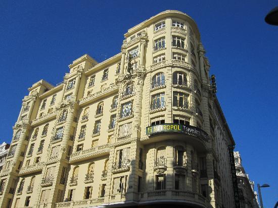 Hostal Luis XV : Blick auf den 9. Stock
