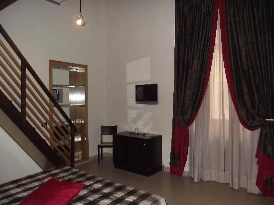 Hotel De Petris: our room
