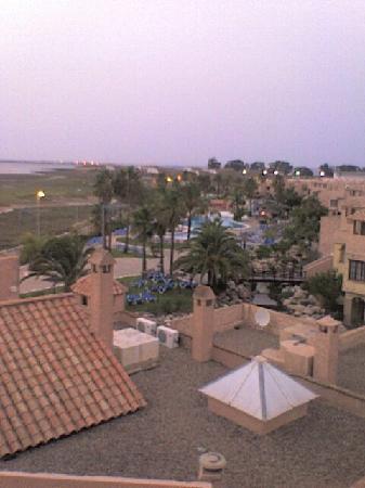 Bahia Sur Hotel: hotel terraza