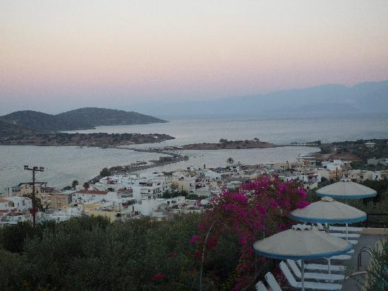 Elounda Heights Apartments and Studios: View from our balcony