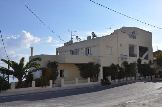 Kalyves, Greece: L'hôtel