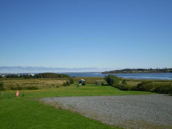 Blue Crest Cottages: View from the cottage