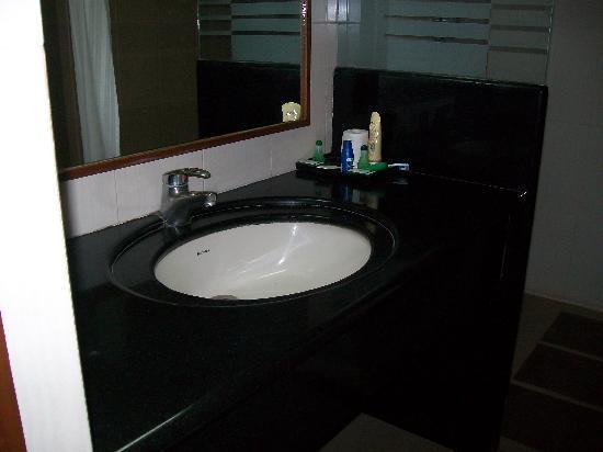 Hotel Malligi: washroom
