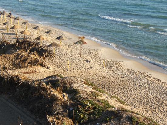 Hotel El Menchia: la plage