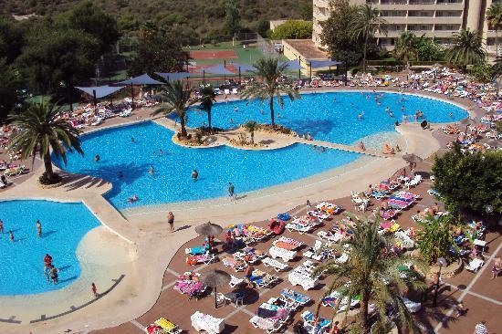 Club Cala Romani: view from balcony