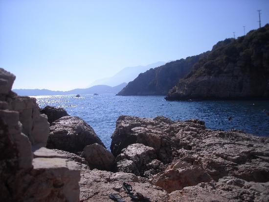 Kas, Turkey: Buyukcakil beach