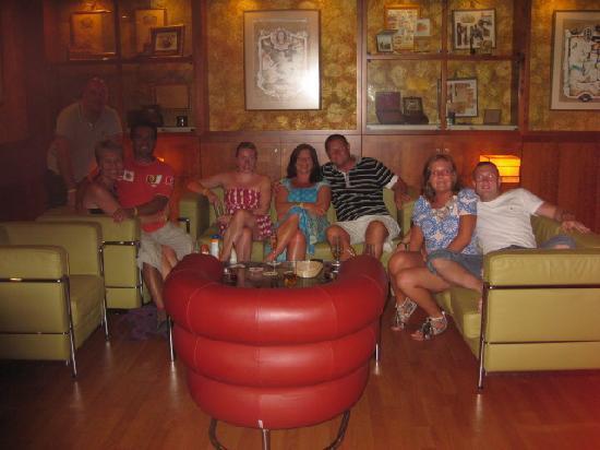 Iberostar Varadero: Cuban Cigar Lounge with New Friends