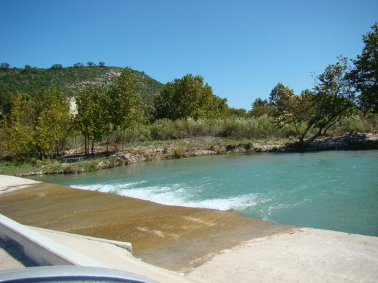 Junction, Teksas: Entrance to South Llano River State Park