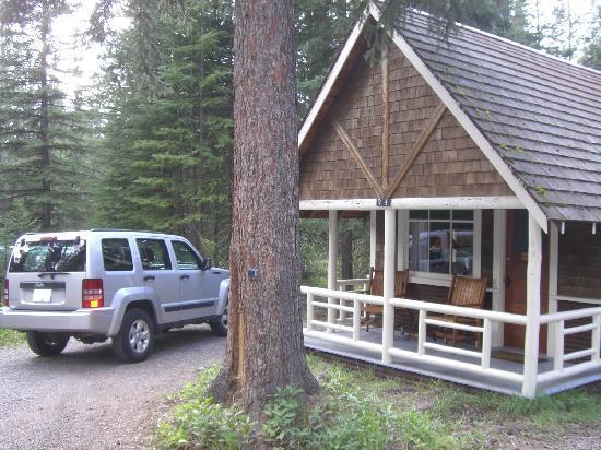 Johnston Canyon Resort: Blockhütte für 2 Personen