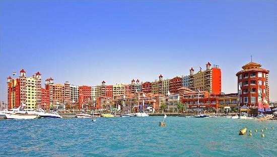 Porto Marina Resort & Spa: from the boat