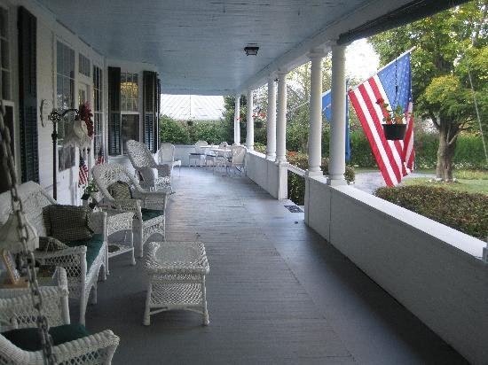 The Whitney House Inn: View from the Porch