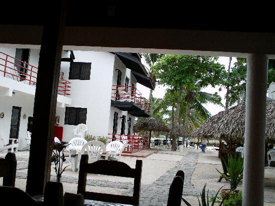 Hotel Zapata : the beach area of that hotel...