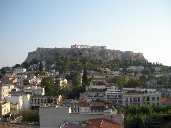 Plaka Hotel: View from roof top.