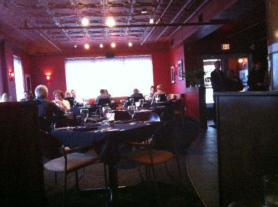 TRU: Restaurant dining area