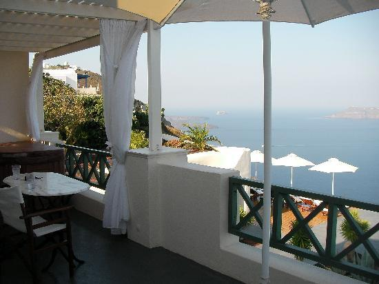 Anastasis Apartments: Balcony with the best view in the world!!