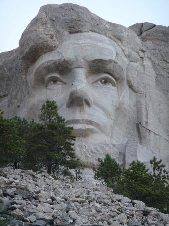 Mount Rushmore National Memorial: Lincoln.