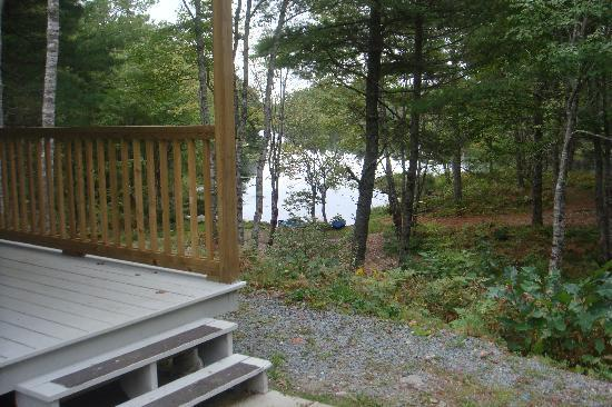 Roseway River Cottages: View of the river.