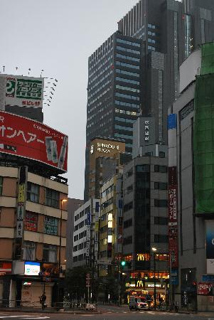 Hotel Sunroute Plaza Shinjuku: Hotel and Surrounding area