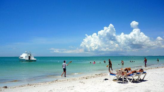 Coche Island, Venezuela: arena blanca, mar turquesa