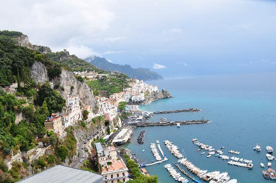 NH Collection Grand Hotel Convento di Amalfi : view from hotel/room