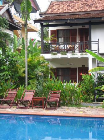 Kafu Resort & Spa: Shot of the pool area