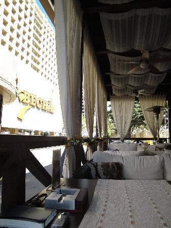 Hotel Vesna : Hotel Terrace