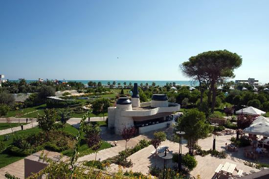 Susesi Luxury Resort: view from rooftop bar