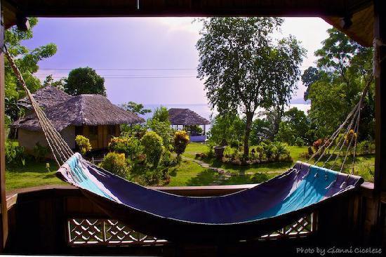 Bunaken Island Resort: Vista dalla Villa