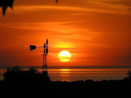 Posada de Campo Gondwana: Sonnenuntergang auf Gondwana