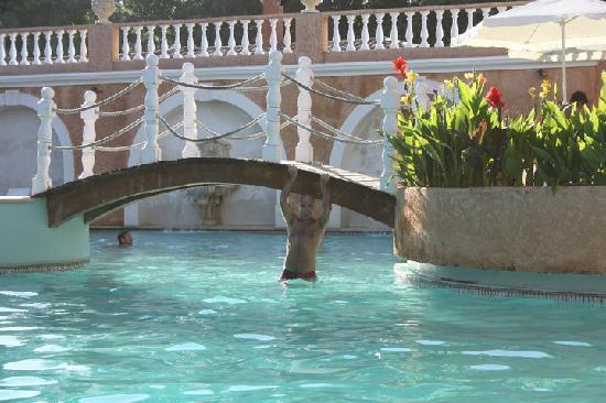 Quinta de Lagoa: Vista da piscina principal