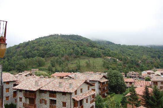 Llanars, Spanje: Vistas desde la habitación 2
