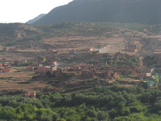 Kasbah Tamadot: Terrace view