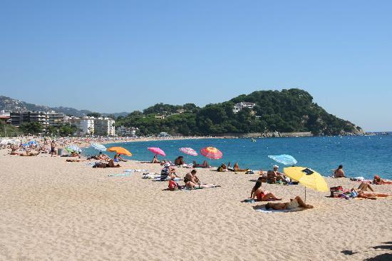 H·TOP Royal Beach: Fenals Beach, Lloret de Mar, Spain