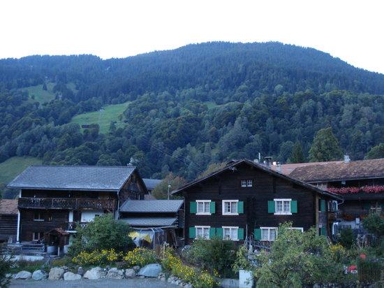 Sunstar Boutique Hotel Albeina Klosters: Blick aus dem Zimmer