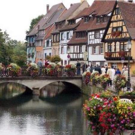 Colmar, فرنسا: Fachwerkhäuser in Colmar