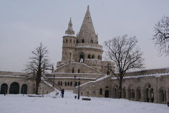 هوتل مترو: Fischerbastei im Winter