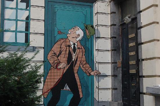 Chez Dominique : Girando per Bruxelles col naso all'insu'...