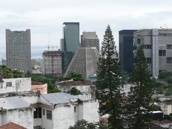 Casa da Gente: Vue depuis la terrasse